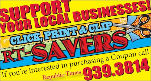 Click to visit The Republic-Times Coupons page