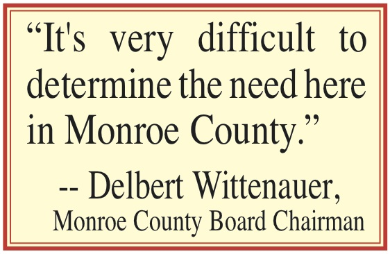 Monroe County Health Board Quote