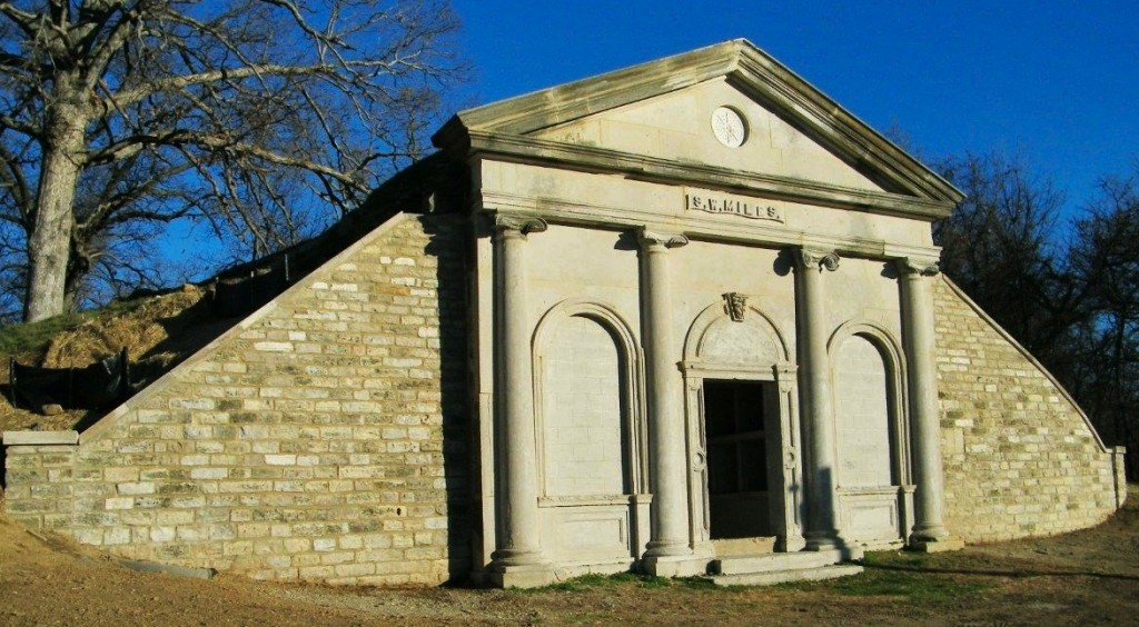 The Miles Mausoleum at Eagle Cliff-Miles Cemetery. (submitted photo)