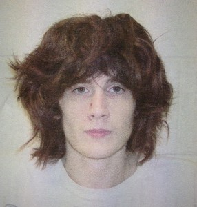 Jordan Kuykendall in a police booking photo taken July 8.