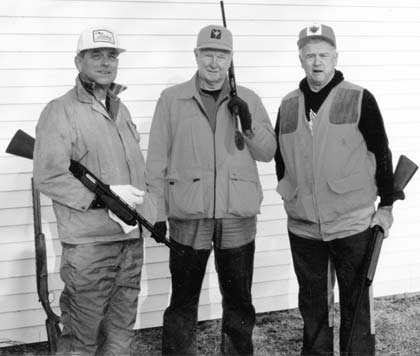 Bill Schmidt, at left, was longtime friends with Red Schoendi- enst and Whitey Herzog, formerly of the St. Louis Cardinals. He frequently went fishing and hunting with them. (submitted photo)