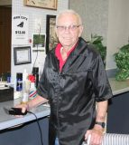Professional barber Jake Kohnz of Valmeyer will retire July 1 from his 57-year career. (Sean McGowan photo)