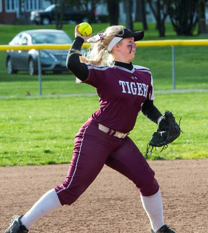 Dupo shortstop Skylure Barlow has been key to the team's first state tourney appearance since 2009.