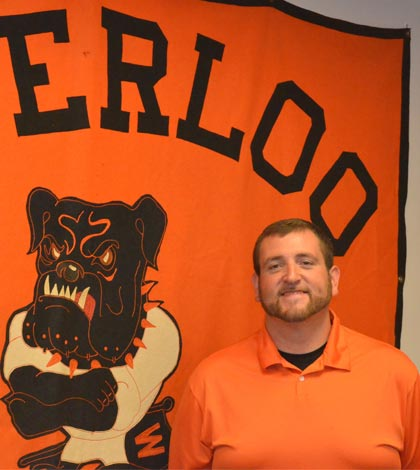 Mitch North, a native of Sparta, is the new Waterloo school district athletic director. He replaces Dan Classen, who accepted an assistant principal position in Missouri. (Corey Saathoff photo)