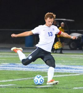 Sam Spivey scored 10 goals with nine assists for the Eagles this season.