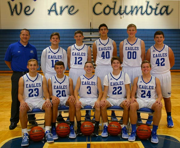 Pictured is the 2016 Columbia High School boys basketball team.