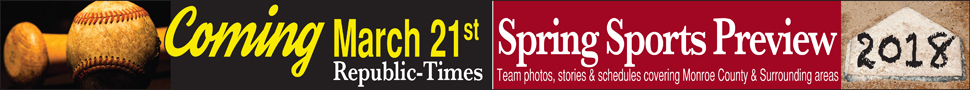 Republic-Times Newspaper Spring Sports Preview