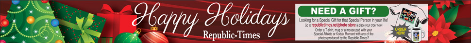 The Republic-Times is the Perfect Christmas Gift