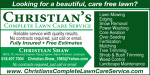 Christians Complete Lawn Care Service