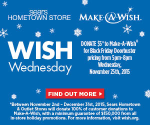 Sears Hometown & Outlet Wish Wednesday