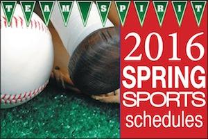 Spring Sports 2016
