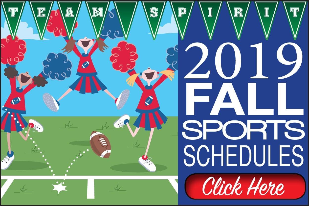 Fall Sports Schedule